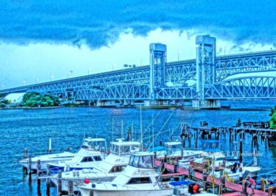 Stormy Bridge at New London