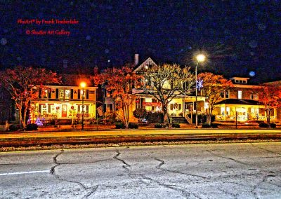 Flakes for Morehead City Christmas