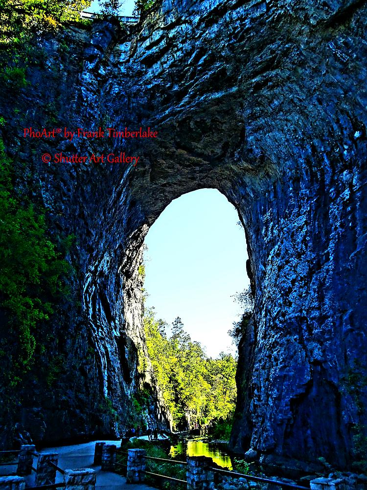 The Caped Watcher of Natural Bridge