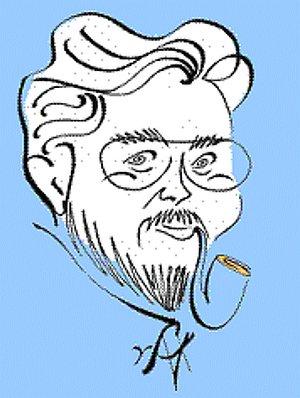 Frank Timberlake Caricature