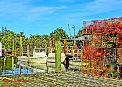 Crab Pots on Aarons Dock