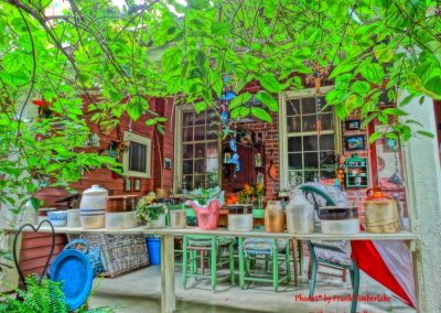 Miss Sues Back Porch