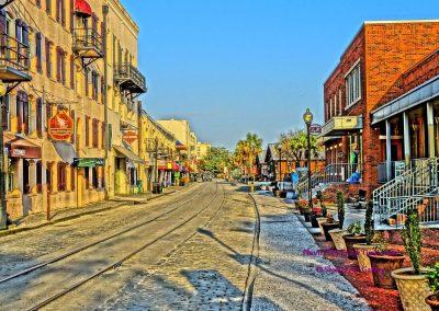 River Street Rails Savannah
