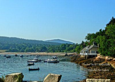 Rocky Maine Harbor